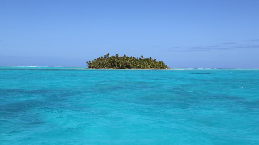 Iles Cook Aitutaki Archipel