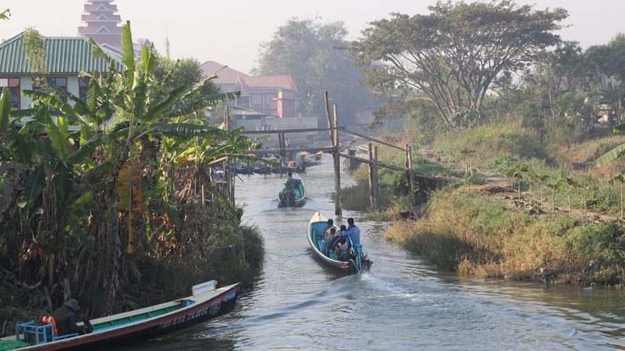 Birmanie Fleuve