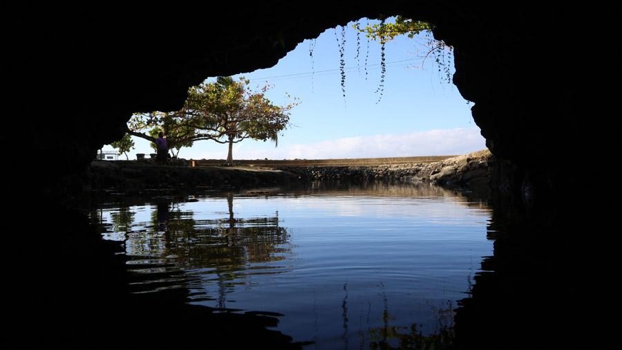Samoa Upolu Grotte
