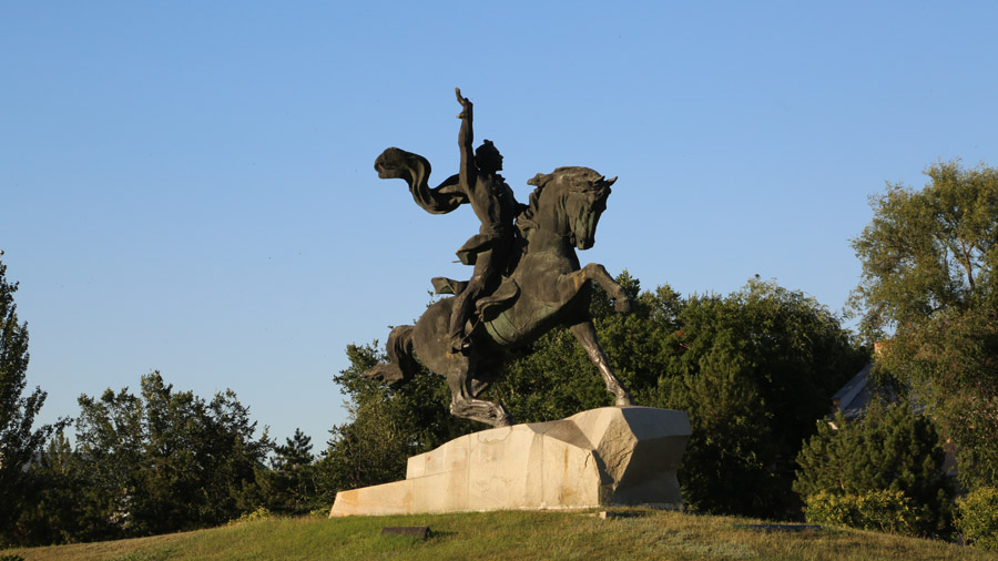 Transnistrie Tiraspol Place centrale