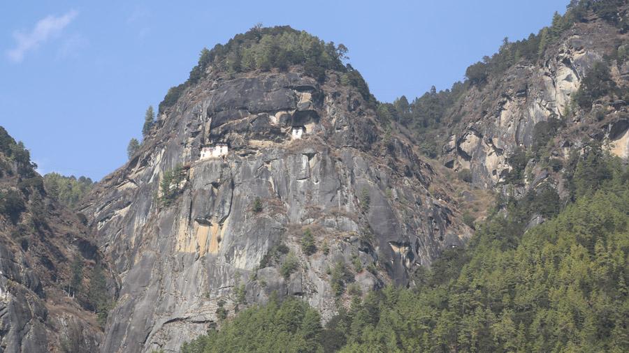 Bhoutan Monastère