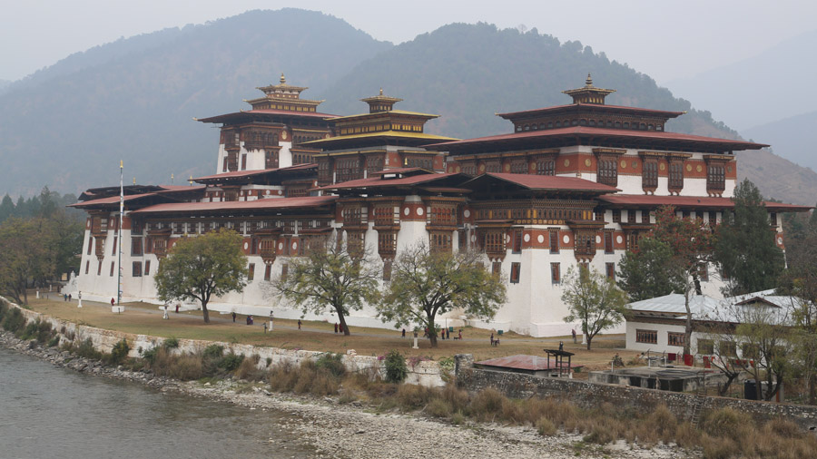 Bhoutan Punakha