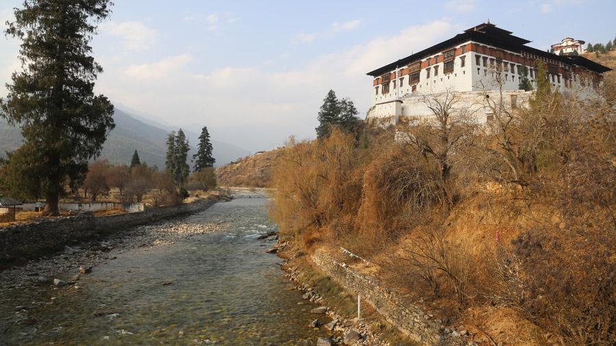 Bhoutan Rinpung Dzong