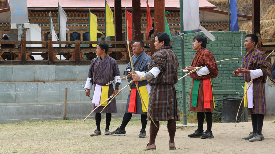 Bhoutan Tir à l'arc