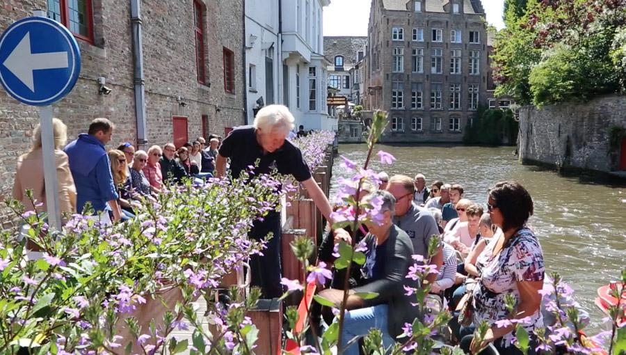 Belgique bruges flandre balade sur les canaux hors - Office du tourisme bruges belgique adresse ...