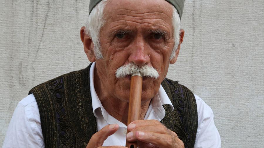 Slovenie Joueur de flute