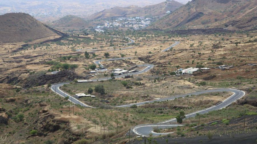 Cap Vert Fogo Paysages