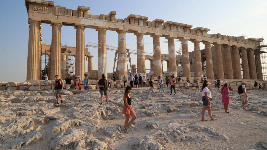 La Région De Lattique Une Grèce Balnéaire Et Culturelle
