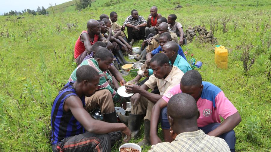 RDC Repas entre hommes