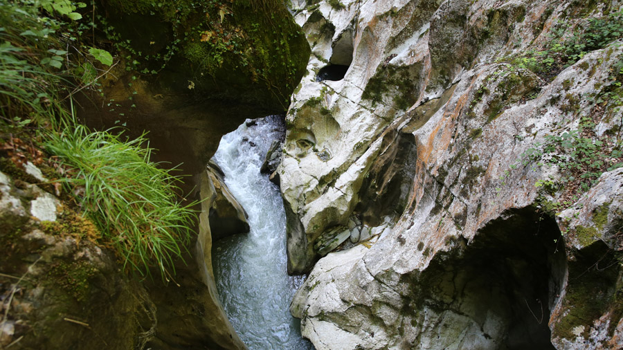 France Haute Savoie Gorges du diable Gorges