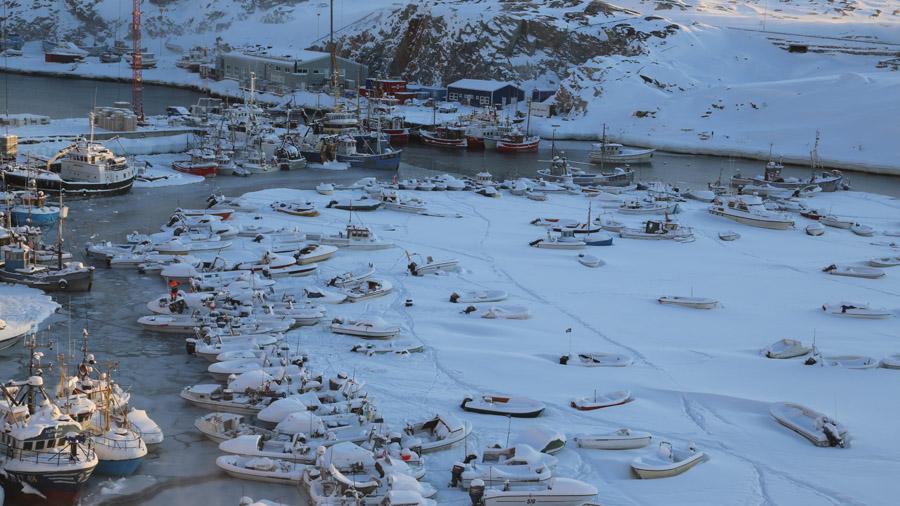 Groenland Ilulisat Port