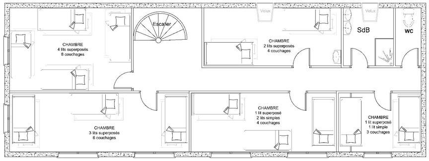 la-bergerie-plan-du-1er-étage